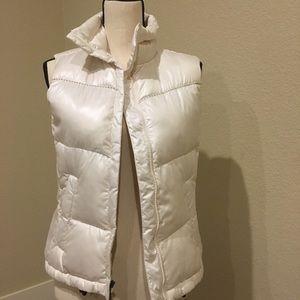 Columbia Winter White Vest - XS